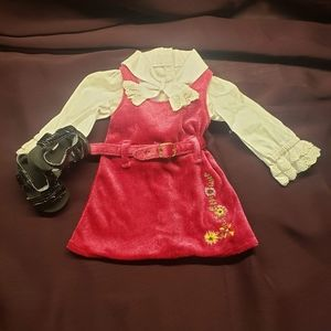 American Girl Julie's Christmas Holiday Dress